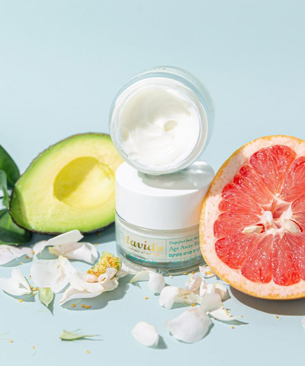 Lavido Age Away Replenishing Cream - Grapefruit Seed, Melissa, & Avocado