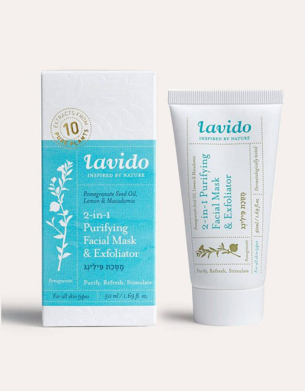 Lavido Bestseller 2-1 Purifying Facial Mask Pack shot
