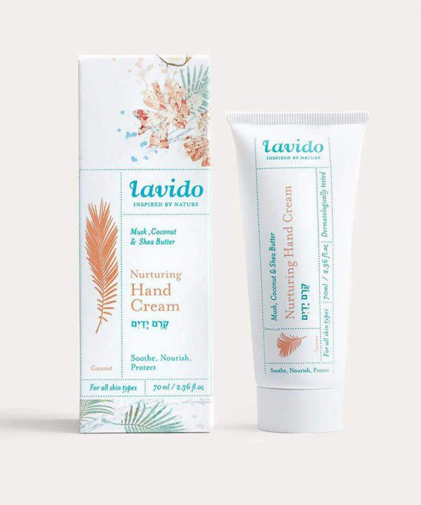 Lavido Coconut Nurturing Hand Cream