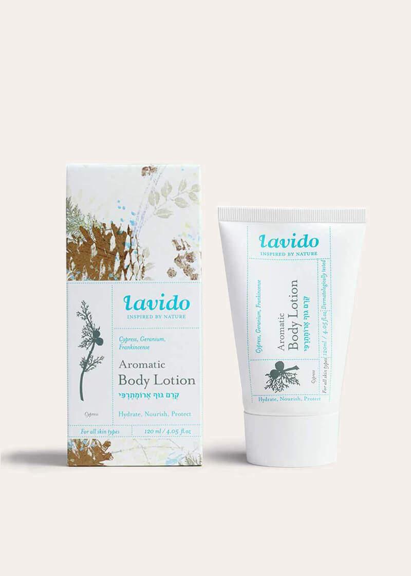 Lavido Cypress Aromatic Body Lotion