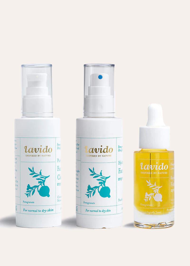 Lavido Hydrating Trio Gezichtsverzorgingsset