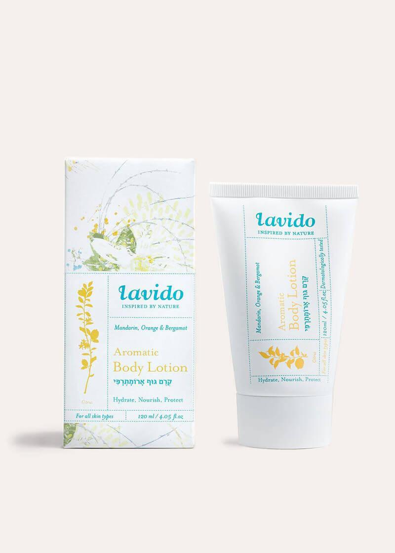 Lavido Mandarin Aromatic Body Lotion