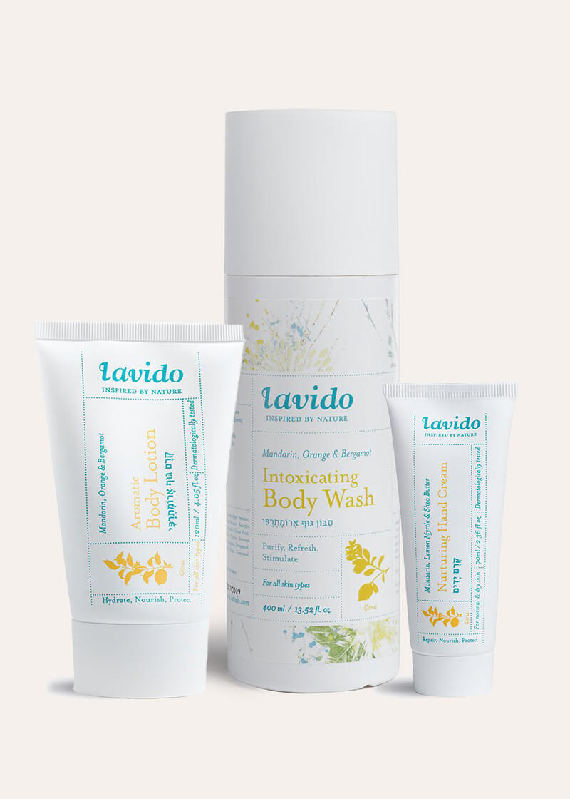 Lavido Mandarin Body Care Set